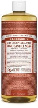 Dr. Bronner's Pure Castile Soap - Eucalyptus - 32 oz