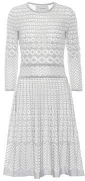 Carolina Herrera Long-sleeved knitted dress