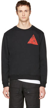 McQ Black Double Triangle Sweatshirt