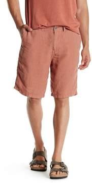 Lucky Brand Linen Plain Front Short