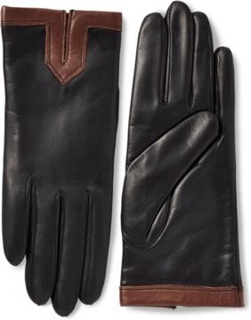 Portolano Nappa Leather Gloves With Cashmere Lining
