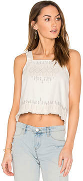 Blank NYC BLANKNYC Embroidered Crop Top