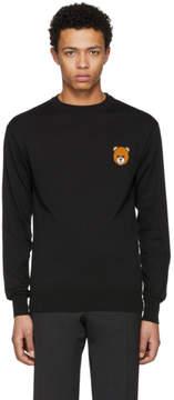 Moschino Black Teddy Bear Sweater