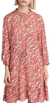 AllSaints Alise Kazuno Drawstring Dress