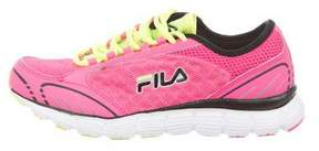 Fila Neon Mesh Sneakers