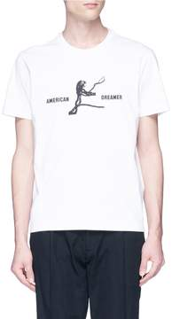 Tim Coppens 'American Dreamer' slogan graphic print T-shirt