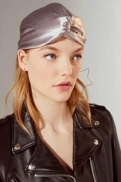 Urban Outfitters Luxe Satin Knot-Front Beanie