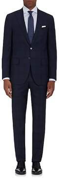 Isaia Men's Sanita Plaid Wool Two-Button Suit
