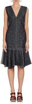 Derek Lam Women's Two-Tone Denim Dress