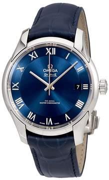 Omega De Ville Hour Vision Automatic Chronometer Blue Dial Men's Watch