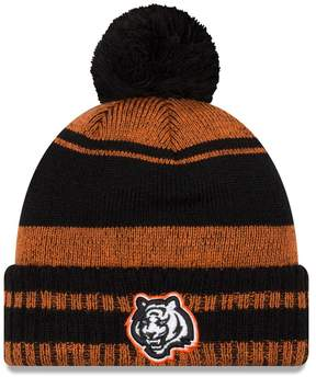 New Era Adult Cincinnati Bengals Glacial Pom Knit Hat