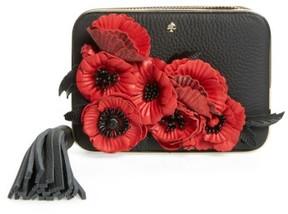 Kate Spade Madison Evening Belles Zurie Leather Frame Clutch - Black - BLACK - STYLE