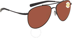 Costa del Mar Cook Copper 580P Aviator Sunglasses COO 101 OCP