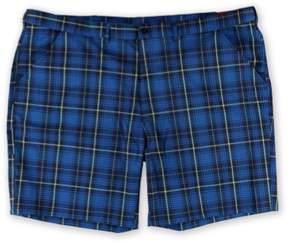 Fila Mens Score Card Pocket Golf Athletic Workout Shorts Blue 56 Big - Big & Tall