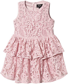 Bardot Junior Pink Lace Eyelet Dress