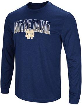 Colosseum Men's Campus Heritage Notre Dame Fighting Irish Gradient Long-Sleeve Tee