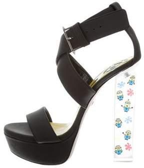 Ruthie Davis Minion Pop Star Platform Sandals