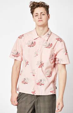 Brixton Bueller Short Sleeve Button Up Shirt