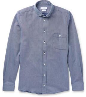 Richard James Button-Down Collar Woven Cotton Shirt
