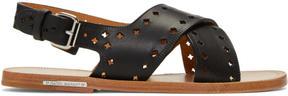 Isabel Marant Black Jerys Sandals