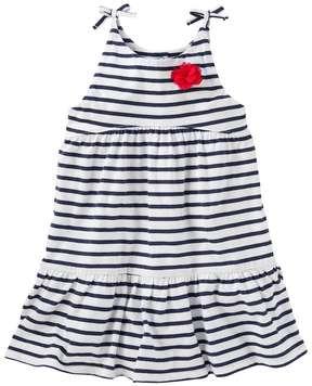 Osh Kosh Toddler Girl Striped Tiered Dress