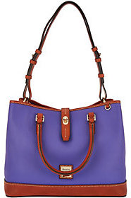 Dooney & Bourke As Is Pebble Leather Perry Satchel - ONE COLOR - STYLE