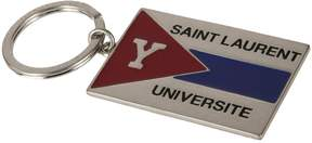 Saint Laurent Universite Embossed Keyring