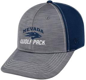 Top of the World Adult Nevada Wolf Pack Upright Performance One-Fit Cap