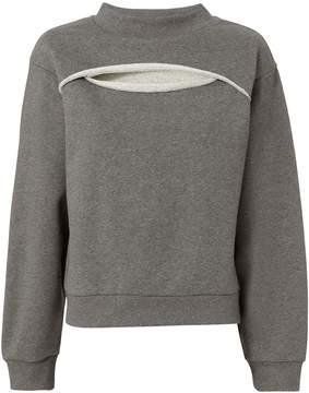 Alexander Wang Slit Front Sweatshirt