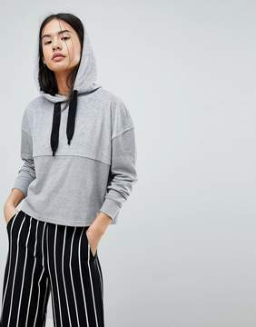 Noisy May Cropped Hoodie Sweater