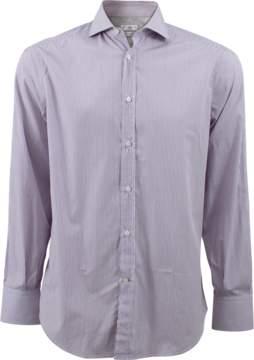 Brunello Cucinelli Mini Stripe Collar Shirt