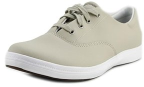 Grasshoppers Janey Ii Round Toe Leather Sneakers.