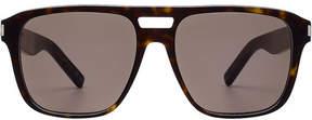Saint Laurent Tortoiseshell Print Sunglasses