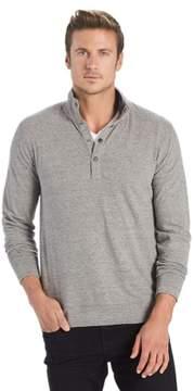 Lucky Brand Apparel Men's Saturday Popover Mock Shirt