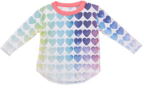 Chaser Rainbow Hearts Tee