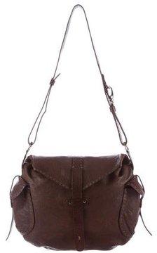 Henry Beguelin Grained Leather Shoulder Bag