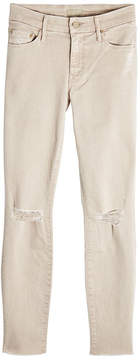 Mother Luca Distressed Skinny Jeans