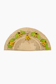 Mercedes Salazar Banana Abanico Clutch
