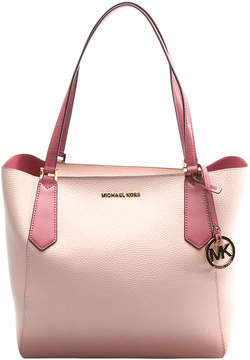 Michael Kors Blossom & Tulip Kimberly Leather Tote - BLOSSOM - STYLE