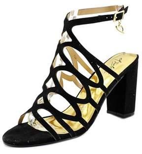 Thalia Sodi Kiarah Women Us 7.5 Black Sandals.