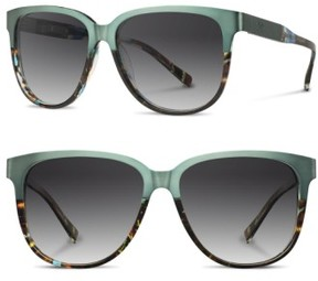 Shwood Women's 'Mckenzie' 57Mm Polarized Sunglasses - Opal/ Titanium/ Grey Polar