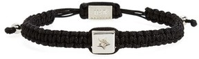 King Baby Studio Men's Macrame Bead Bracelet