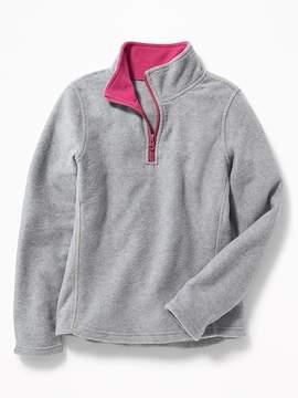 Old Navy Go-Warm Performance Fleece 1/4-Zip Pullover for Girls