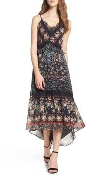 Adelyn Rae Women's Marcella High/low Hem Midi Dress