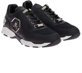 Philipp Plein Runner Hanzo Leather Sneakers