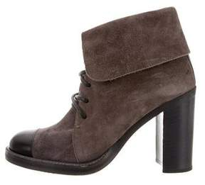 Reed Krakoff Lace-Up Cap-Toe Booties