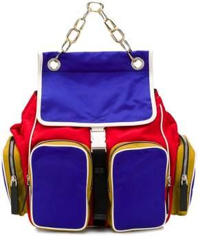 Marni multi zipped pocket backpack