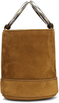 Simon Miller Brown Nubuck Bonsai Bucket Bag