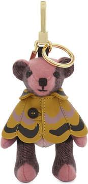 Burberry Thomas bear cashmere charm 12cm - ROSE PINK - STYLE