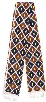 Tory Burch Wool & Silk-Blend Scarf